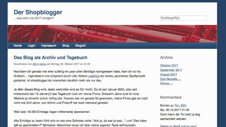 Das Blog Des Shopbloggers