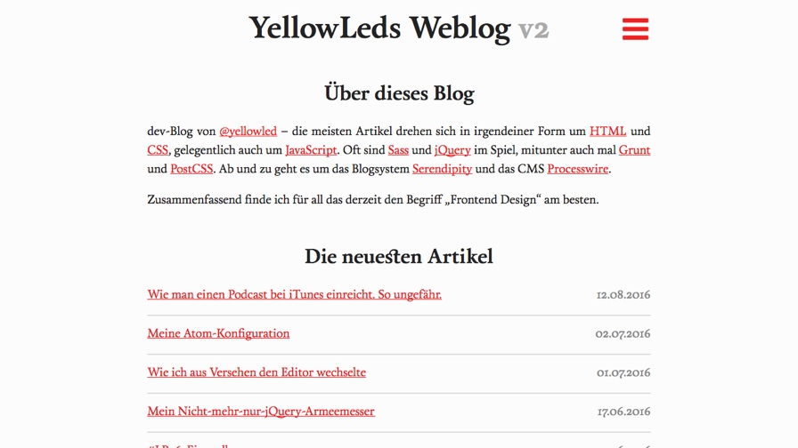YellowLeds Weblog